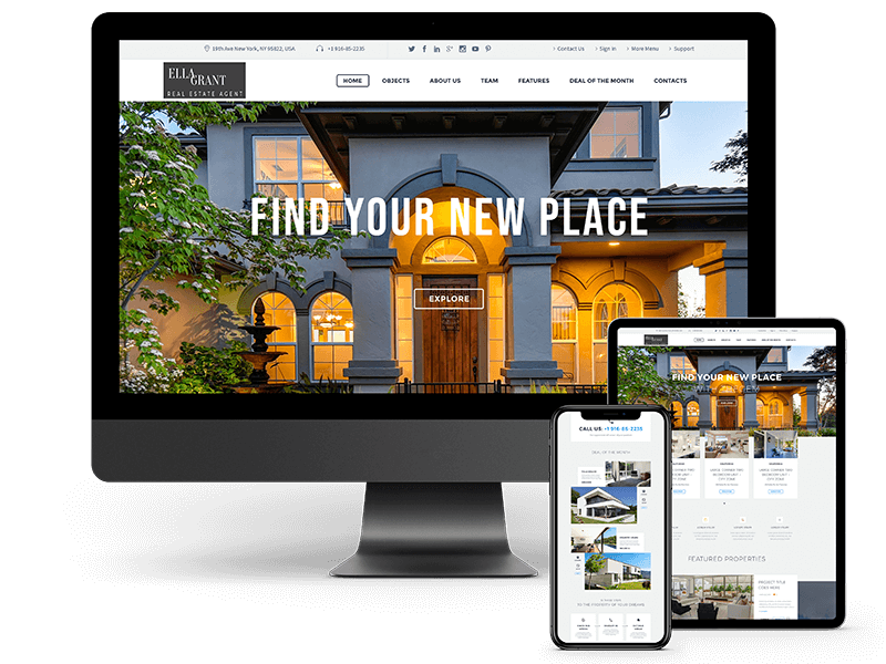 Realtor web design