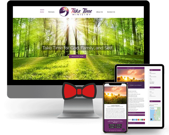 Take-Time-Ministry New Website